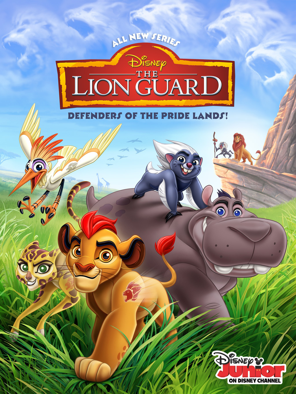The Lion Guard used Music and Effects re-creation